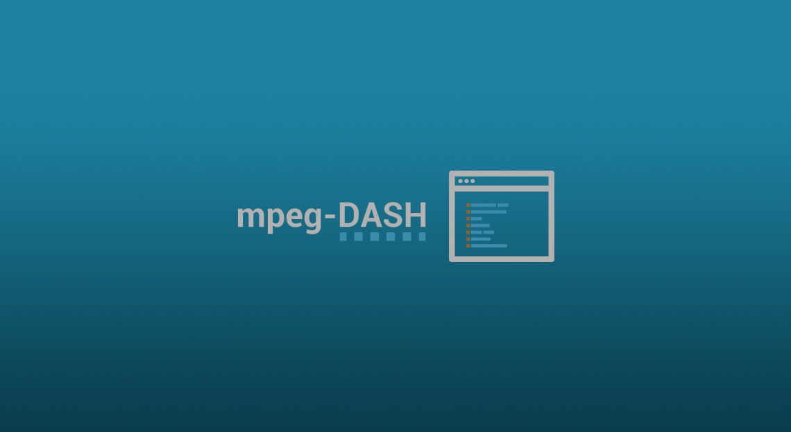 How to encode Multi-bitrate videos in MPEG-DASH for MSE based media players (1/2)