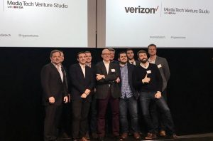 Founders at Verizon Media Tech Venture Studio Demo Day