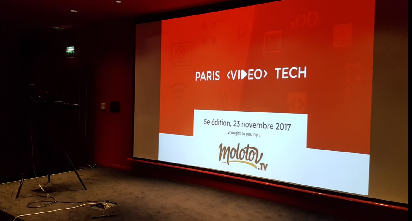 Paris Video Tech #5, November 2017 - video players
