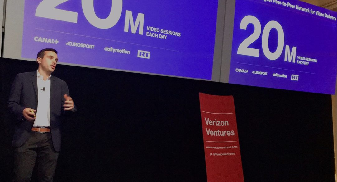 Streamroot pitches to industry leaders at Verizon Media Tech Venture Studio Demo Day
