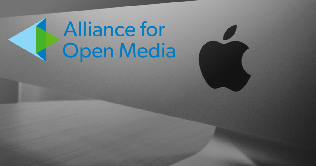 Apple joins AOM & signals support for AV1