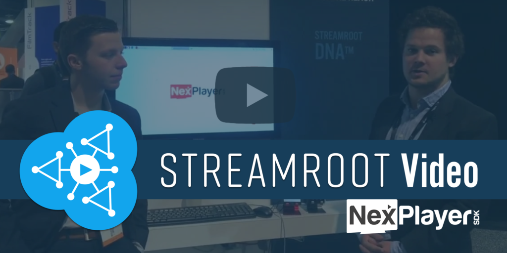 Streamroot video nexplayer
