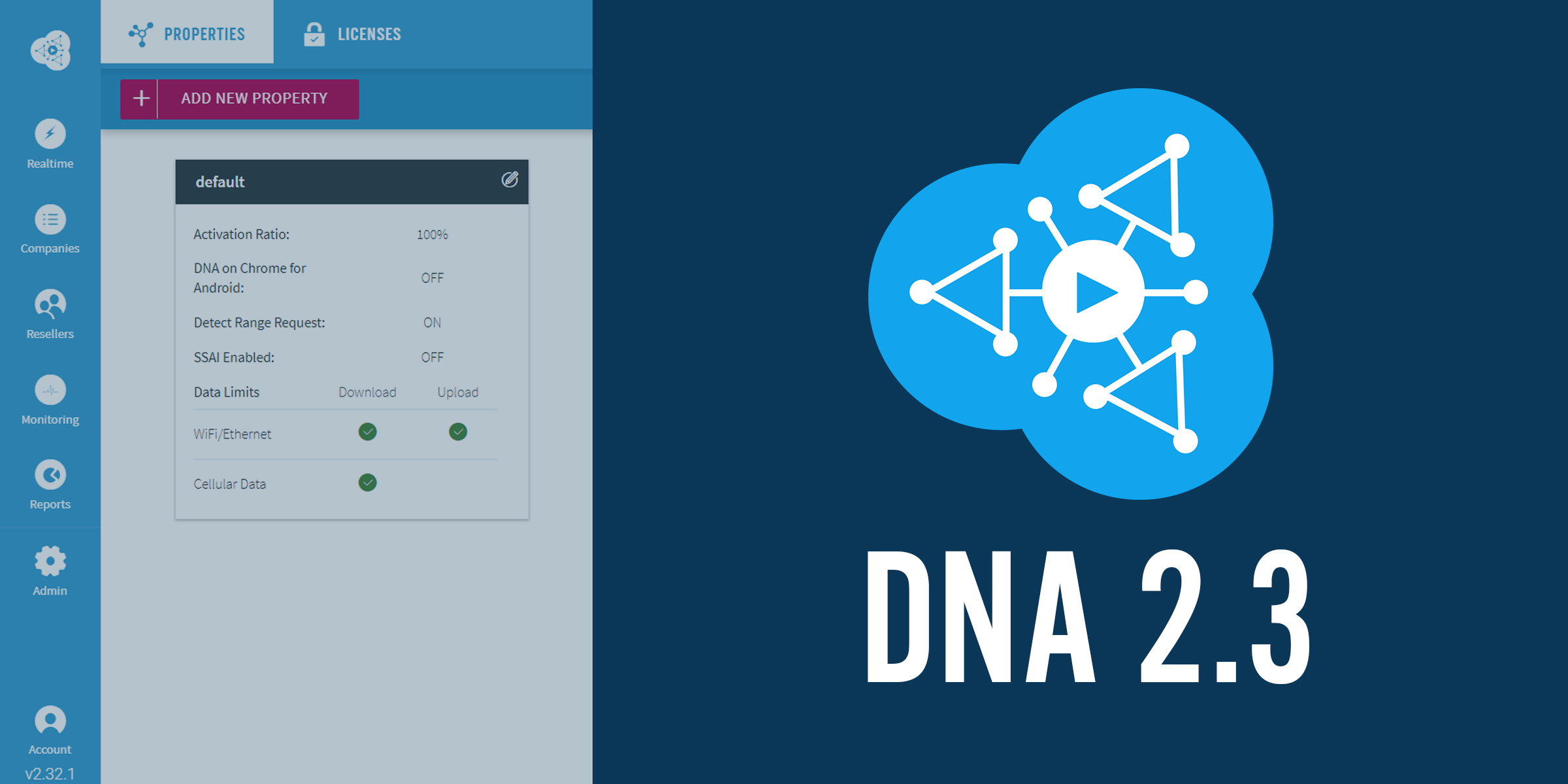 Streamroot dna 2.3