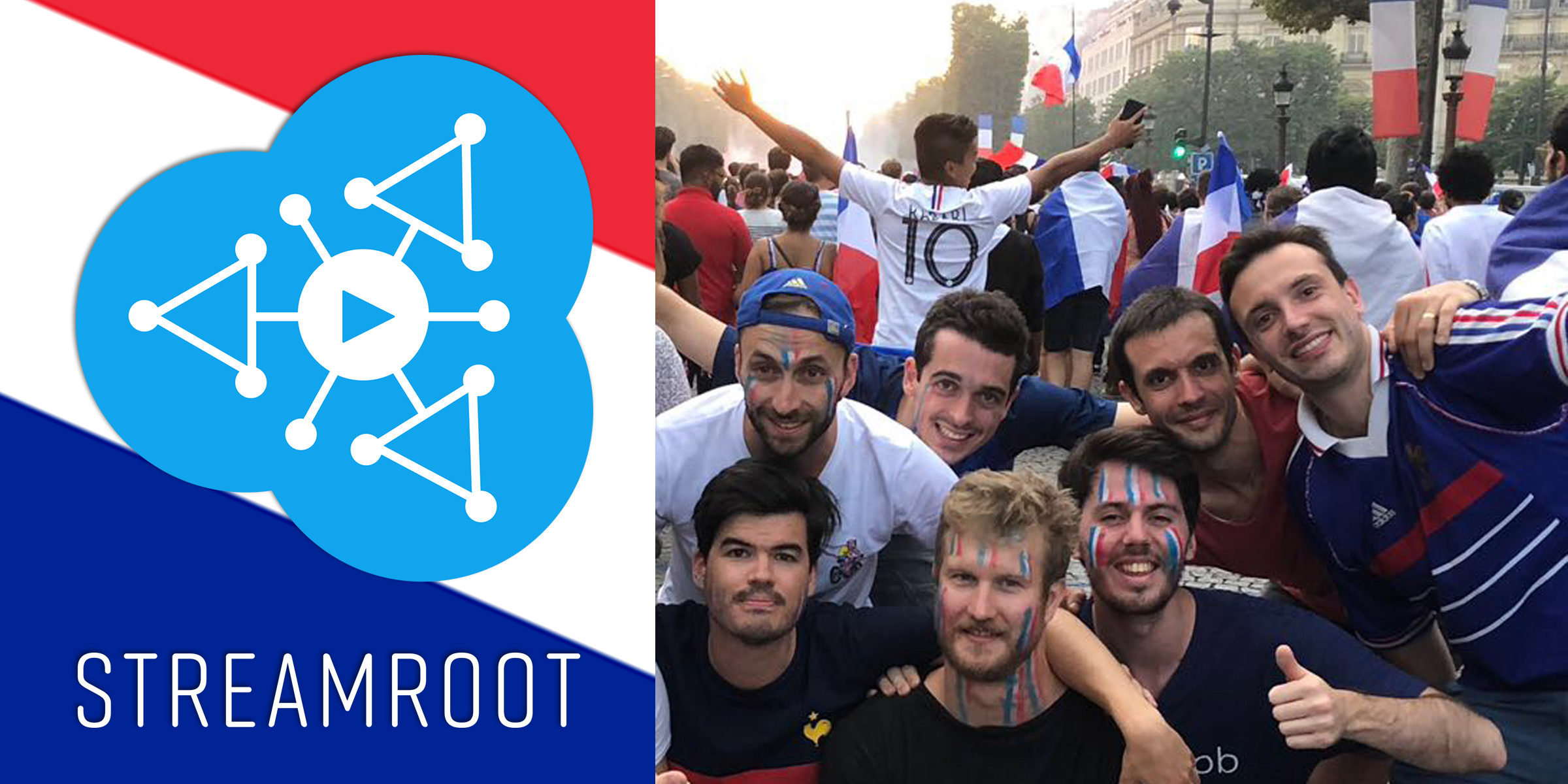 World Cup Streamroot CEO