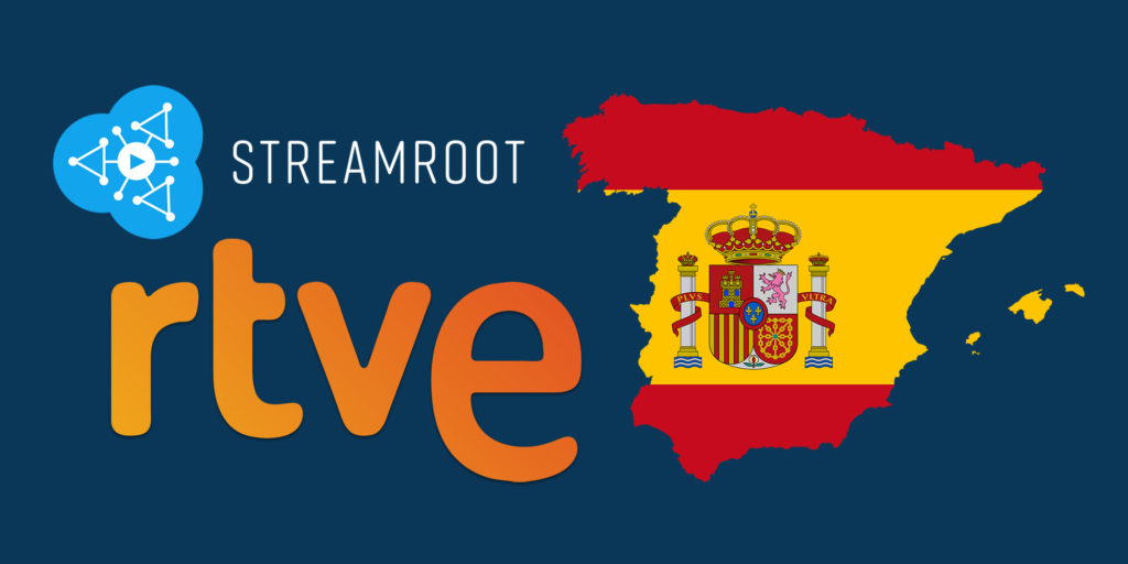 RTVE selects streamroot
