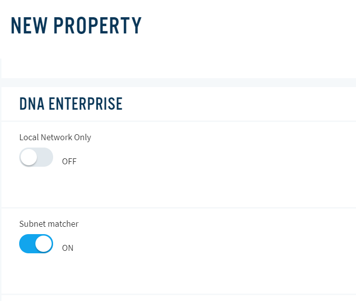 DNA Enterprise new property